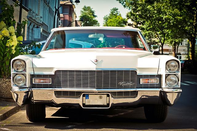 Auto, Cadillac, Oldtimer, Classic, Vehicle, Automotive