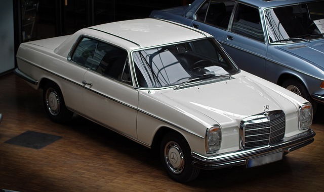 Auto, Mercedes, Oldtimer, Classic, Coupe, Vehicle