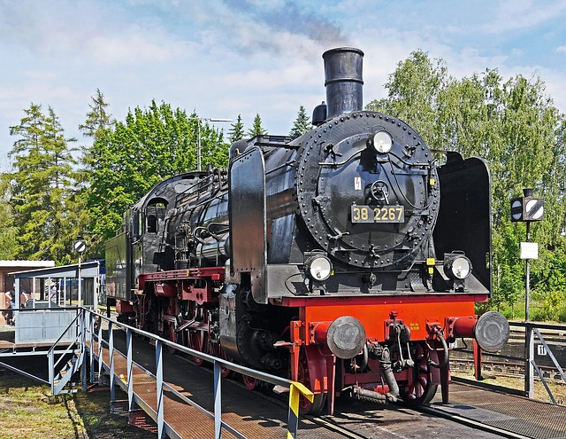 Steam Locomotive, P8, Classic, Hub