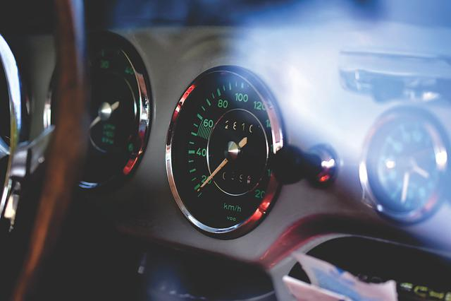Porsche, Oldtimer, 356 C, Speedo, Speed Sensor, Classic