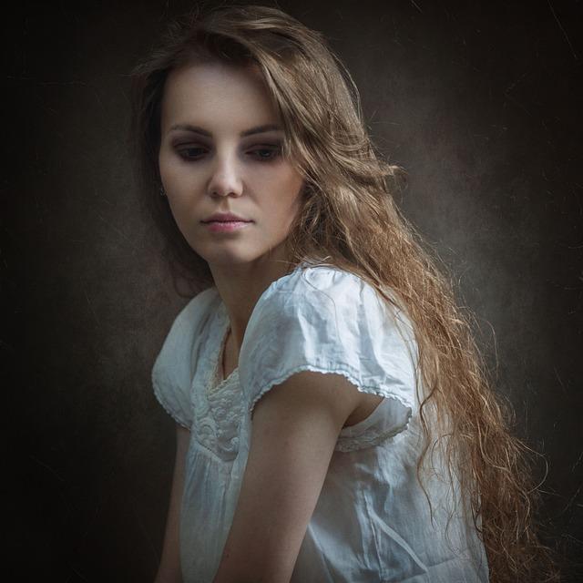 Portrait, Classic Portrait, View, Model, Girls, Girl
