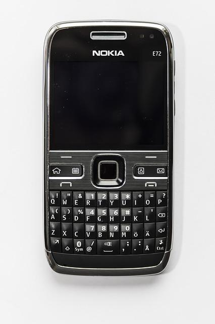 Smartphone, Qwerty, Keyboard, Nokia, Classic, Writing