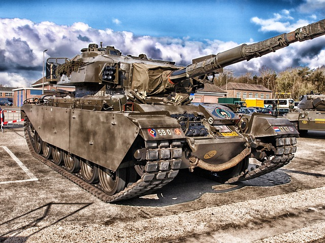 Tank, Centurion Mk5, Historic, History, Classic, Hdr