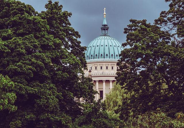 Potsdam, Classicism, Schinkel, St Nikolai Church