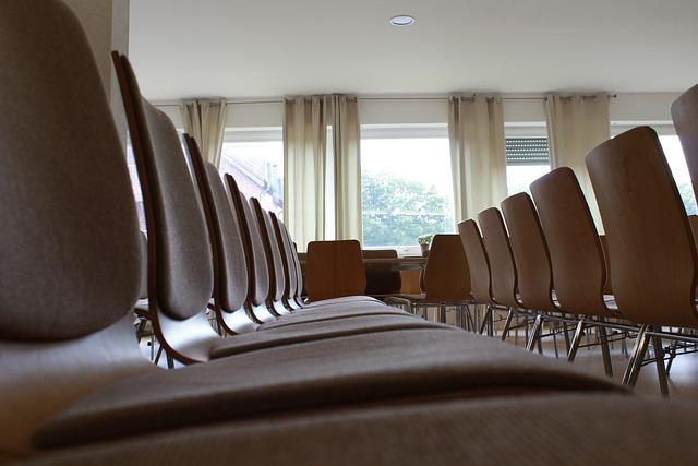 Chairs, Seminar, Classroom, Sit, Seminar Room