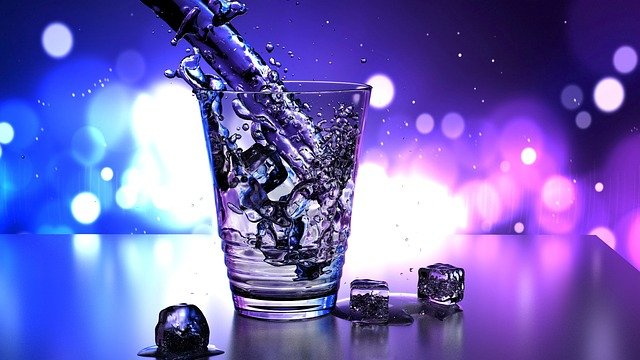 Water, Glass, Ice, Wallpaper, Drop, Clean, Drink, Fresh