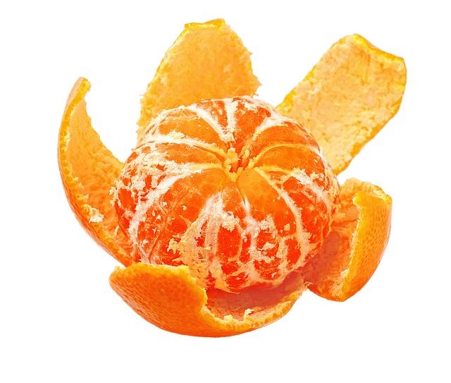 Tangerine, Peel, Cleaned, Cloves, Citrus