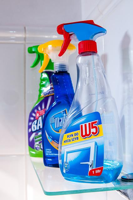 Cleaning, Equipment, Spray, Cleaning Products
