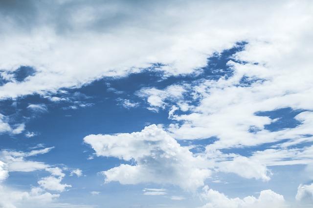 Sky, Cloud, Clear, Blue, Clouds Sky, Sky Clouds