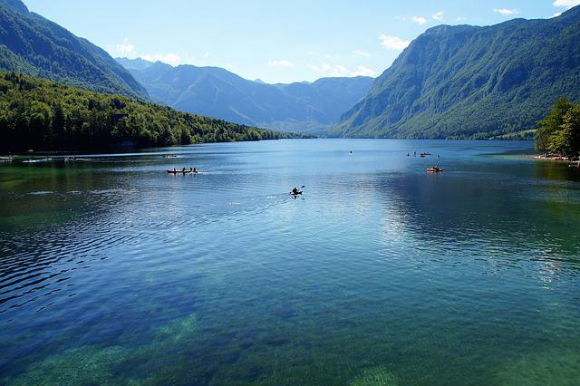 Bohinj, Bohinj Lake, Slovenia, Julian Alps, Clear Water
