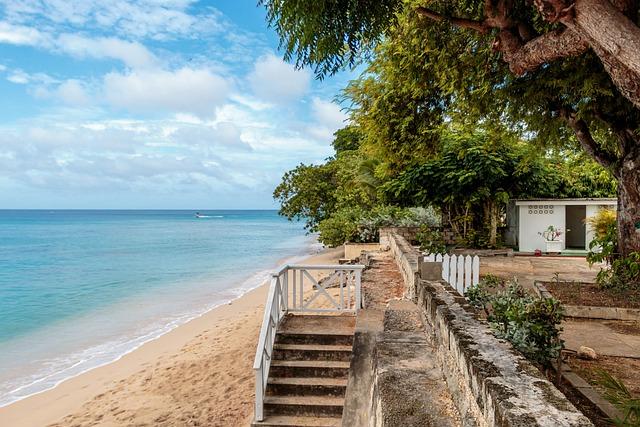 Clearwater Villa Beach, Barbados, Atlantic Ocean