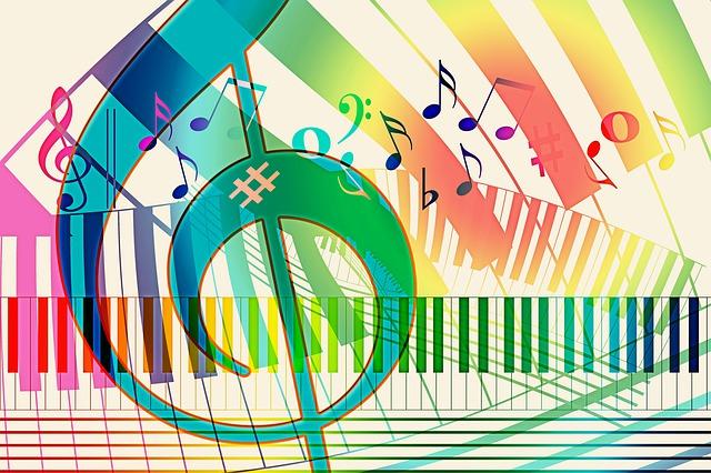 Music, Piano, Treble Clef, Clef, Tonkunst, Keys