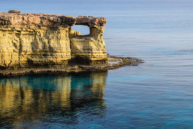 Cyprus, Cavo Greko, National Park, Travel, Sea, Cliff