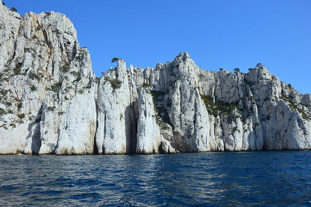 Calanques Of Cassis, Cliff, South France, Mediterranean