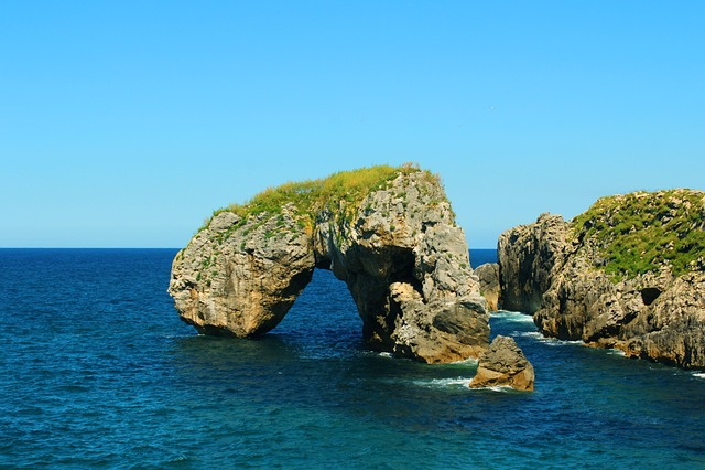 Costa, Castro, Cliff, Asturias, Ocean, Rocks