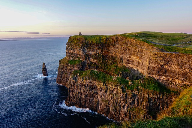 Cliffs, Sea, Ireland, Moher, Landscape