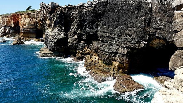 Sea, Coast, Atlantic, Waters, Nature, Travel, Cliffs