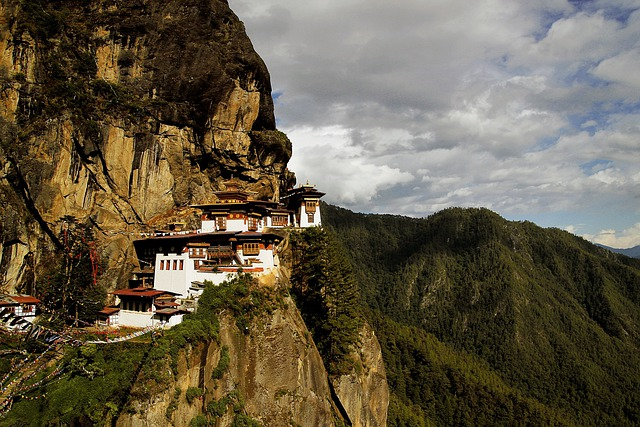 Temple, Monastery, Cliff, Cliffside, Mountainside