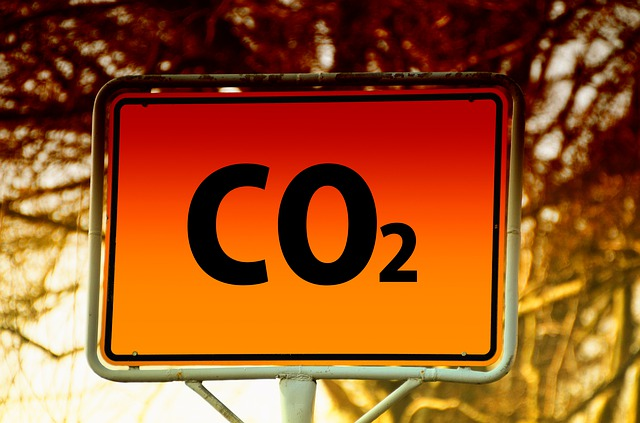 Co2, Climate Change, Town Sign, City, Note