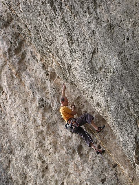 Climber, Sport Climbing, Climb, Rock, Steep