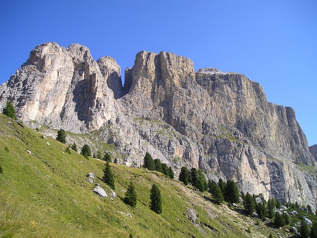 Piz Ciavazes, Sella, Sellatuerme, Dolomites, Climb