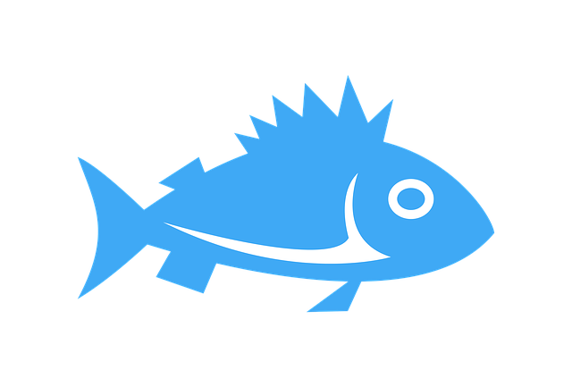 Clipart, Fish, Sign, Icon, Cartoon, Water, Sea