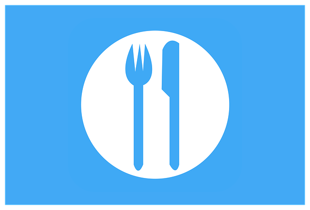 Icon, Clipart, Food, Fork, Knife, Plate, Hotel