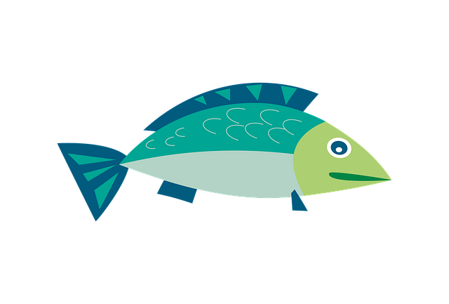 Clipart, Fish, Sea, Water, Swim, Cartoon, Underwater