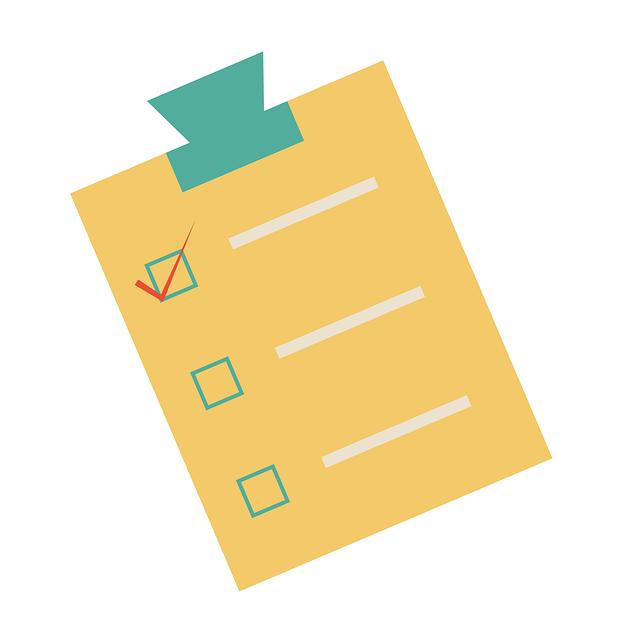 Free photo Paper Clipboard To Do List Pen Checklist Check ...
