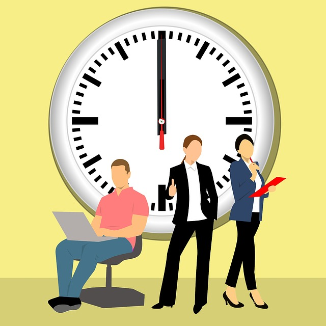 Time, Business, Clock, Man, People, Office, Adult