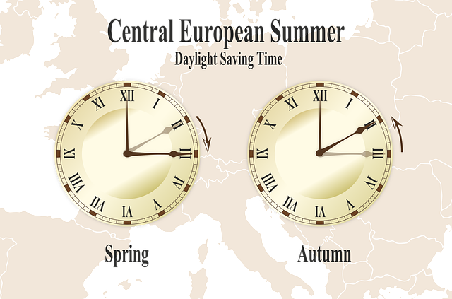 Clock, Conversion, Summer Time, Winter Time, Spring