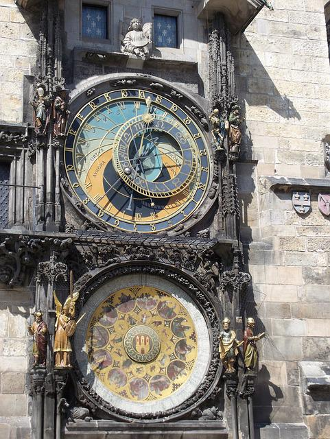 Prague, Clock, Czech Republic, Astronomical Clock