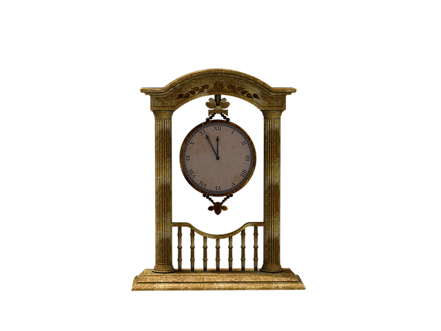 Clock, Time Of, Hängeuhr, Digital Art, Isolated