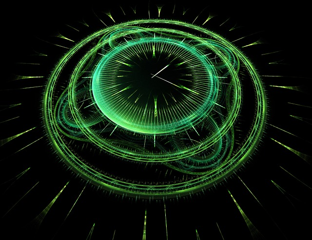 Time, Clock, Fractal, Art, Digital, Creative, Hour