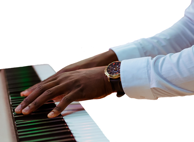 Piano, Keyboard, Hands, Music, Play, Instrument, Clock