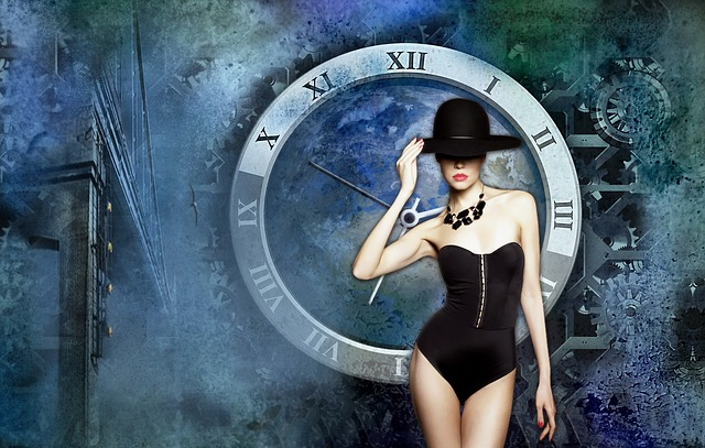 Clock, Time, New Year, Blue, Astronomical Clock