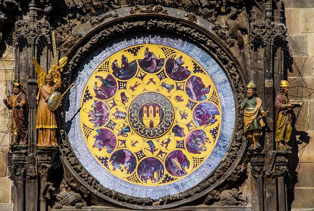 Prague, Clock, Astronomical Clock, Old Town
