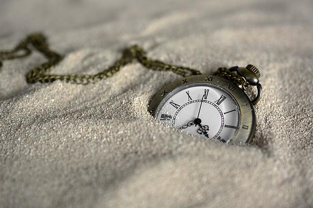 Pocket Watch, Time Of, Sand, Time, Clock, Clock Face