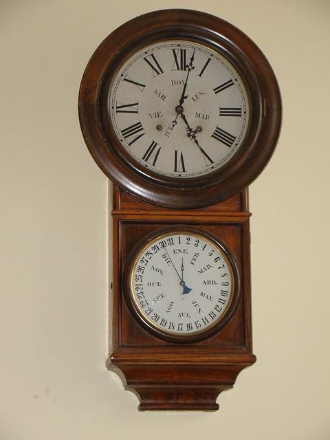 Heritage, Valparaiso, Time, Clock