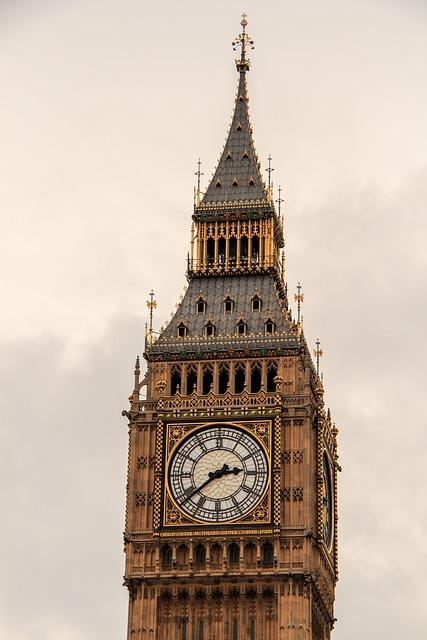 Big Ben, Clocktower, London, Clock Tower