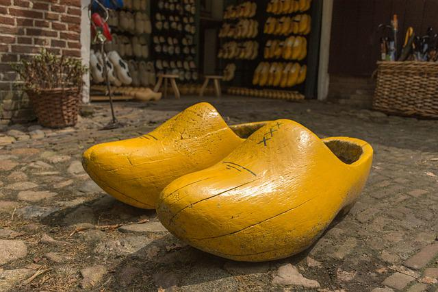 No Person, Clogs, Wooden Shoes