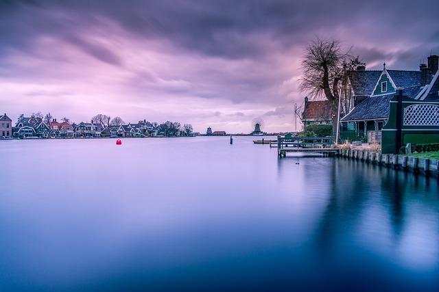 Zaandam, Zaanse Schans, View, Landscape, Clogs, Water