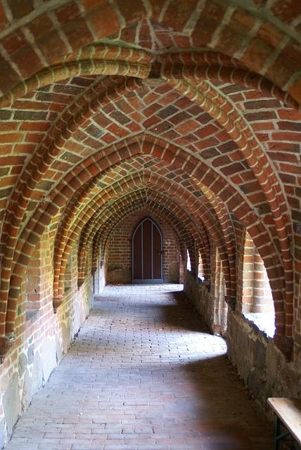 Monastery, Church, Cloister, Vault, Abbey, Architecture