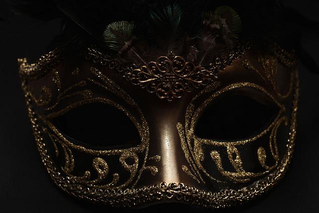 Mask, Carnival, Venice, Black, Cute, Mysterious, Close