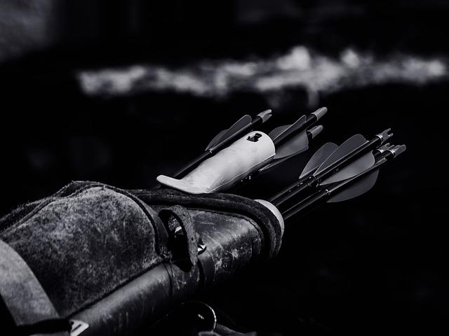 Archery, Arrows, Close-up, Hd Wallpaper, Quiver, Weapon