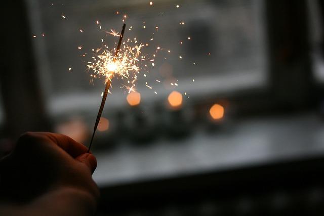 Bright, Close-up, Dark, Light, Sparklers, Sparks