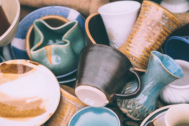 Ceramics, Close-up, Cups, Mugs