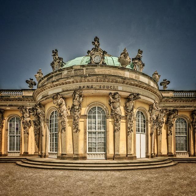 Sanssouci, Potsdam, Park Sanssouci, Closed Sanssouci