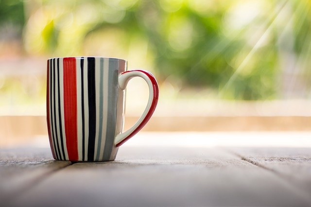 Cup, Coffee, Vintage, Drink, Cafe, Closeup, Bokeh