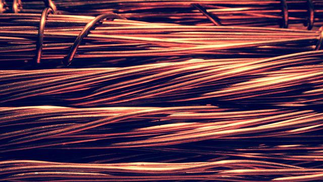 Wire, Copper, Electric, Stop, Closeup, Metal, Recycling